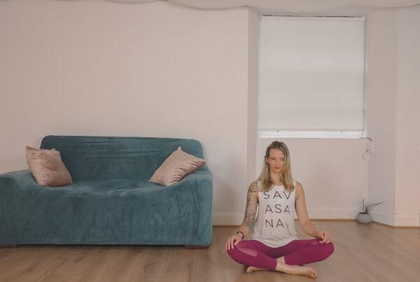 online meditation video image